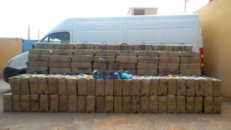 Tlemcen : saisie de 251 kilos de kif traité février courant