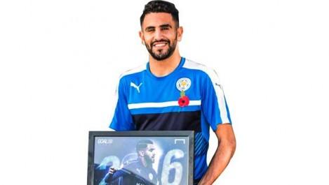 Mahrez, joueur arabe de l'année