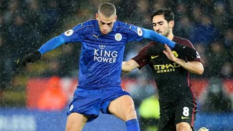 Slimani et Mahrez sonnent la révolte de Leicester