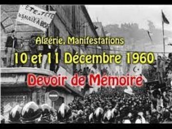 Forum de la Mémoire, Manifestations du 11 Décembre 1960 : La rupture avec le système colonial 1960, une année charnière des relations internationales