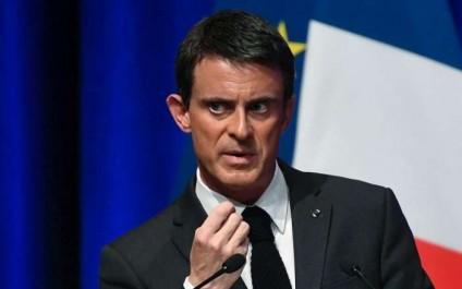 Le premier ministre Manuel Valls annonce sa candidature à la présidentielle