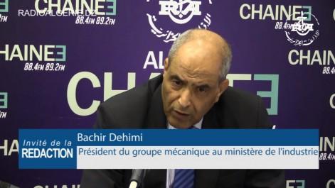 Bachir Dehimi: 17 projets prioritaires identifiès dans la sous-traitance