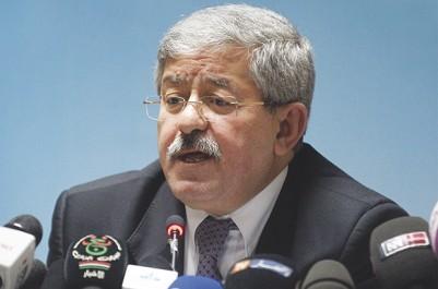 Ouyahia vilipende les autonomistes de Kabylie et du M'zab