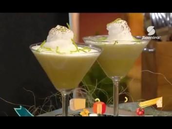 Samira TV -Mousse de citron – طريقة تحضير موس الليمون مع الشاف أمين