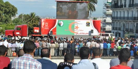 CAN 2017: le ministre des Sports El Hadi Ould Ali promet «des écrans géants pour suivre les matchs de l'Algérie».