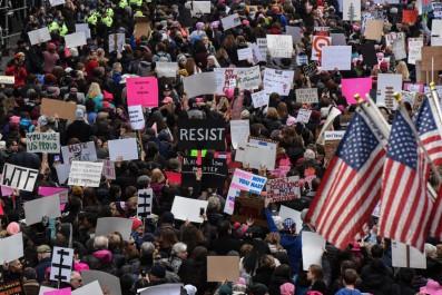 Etats-Unis. manifestations massives contre Donald Trump