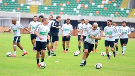 (3e journée – groupe B): le onze algérien contre le Sénégal