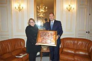 Elle a été reçue hier par le wali mohamed hattab l'ambassadrice des USA en visite à Béjaïa