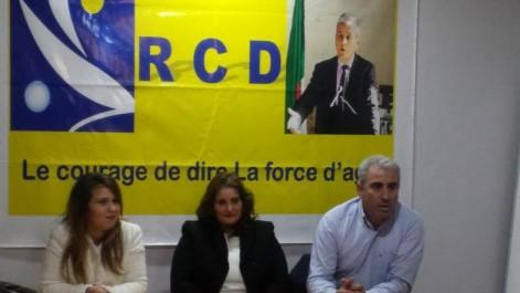 La section féminine du RCD: «Impliquez-vous dans les prochaines élections!»