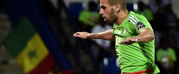 Leicester City: Slimani dans le viseur du club chinois Tianjin Quanjan