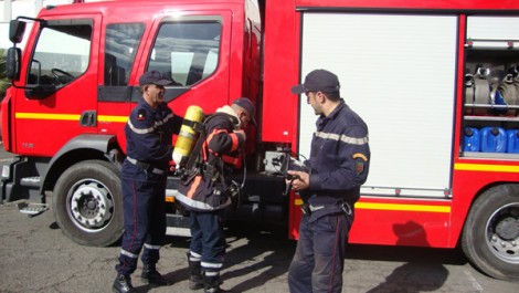 Mobilisés durant la saison estivale et trés sollicités durant des intempéries: Les pompiers en perpétuelle alerte