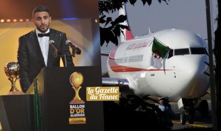 Glo-CAF awards 2016 : La FAF affrète un avion spécial pour mahrez !