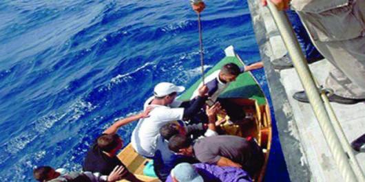 Au large d'Oran et Aïn Témouchent: 85 harragas interceptés