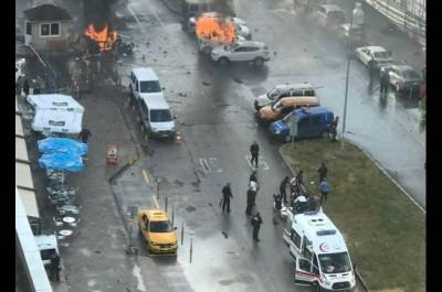 Turquie: au moins 10 blessés dans une explosion à Izmir, deux «terroristes» tués