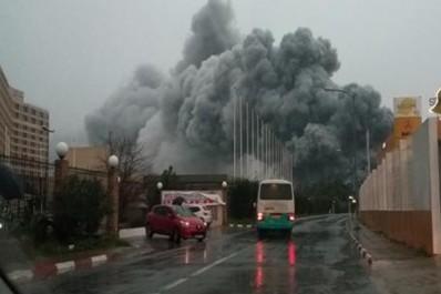 Incendie dans un dépôt au palais des expositions: Des dégâts matériels, pas de pertes humaines