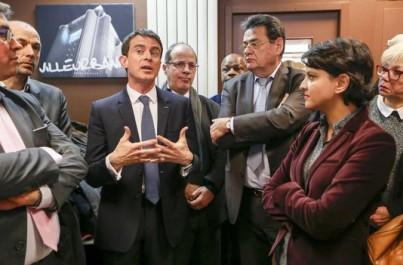 Le jeune homme qui a giflé Valls a été condamné à trois mois de prison avec sursis