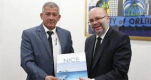 Le maire MPA d'Alger, Abdelhakim Bettache, en visite de travail à Nice La mairie d'Alger affirme sa présence dans l'Euromed