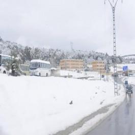 BMS: Nouvelle alerte à la neige dans 19 wilayas