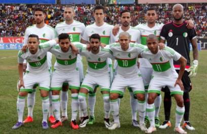 CAN 2017 – Moyenne d'âge des équipes : l'Algérie classée 4ème.