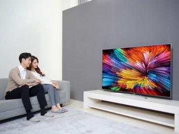 LG atteint de nouveaux sommets grâce a sa gamme de televiseurs Super UHD 2017 dotée de la technologie a Nano-Pile