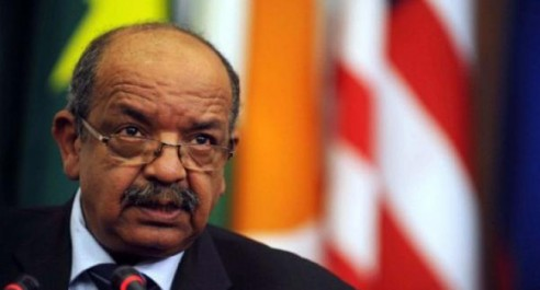 Messahel réitère la position de l'Algérie pour un «dialogue politique inclusif».
