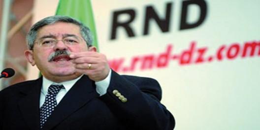 Majorité parlementaire: Ouyahia fait gagner des galons au RND