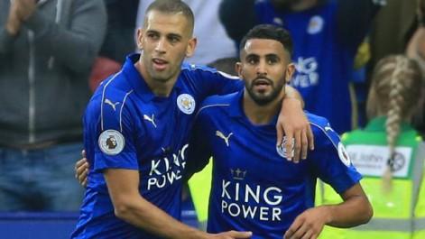 CAF : Mahrez dans l'équipe type de 2016, Slimani remplaçant