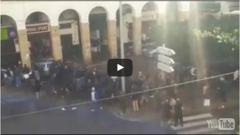 Alger: La rue Abane Ramdane inondée par des eaux souterraines (Vidéo)