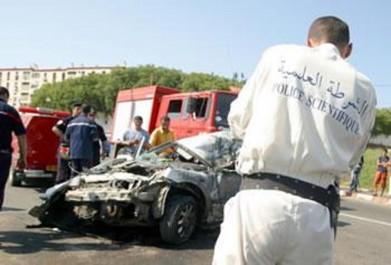 Aïn Témouchent: Un mort et deux blessés dans un accident de la circulation