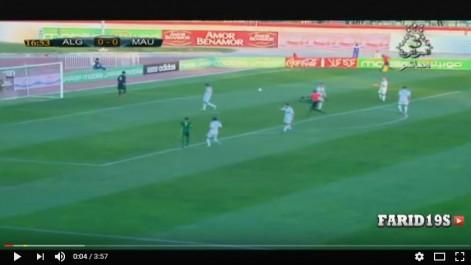 L'Algérie bat la Mauritanie (3-1) en match de préparation de la CAN 2017.