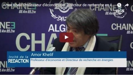Amor Khellif , directeur de recherche en énergie : le brut continuera « sur le long terme » à se pérenniser comme source d'énergie