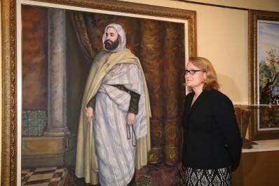 Mme l'ambassadeur des USA, hier, à Béjaïa:  Elle a été reçue par le wali