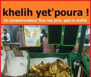 A 600 DA le kg, les Algériens lancent une campagne de boycott…de la banane!