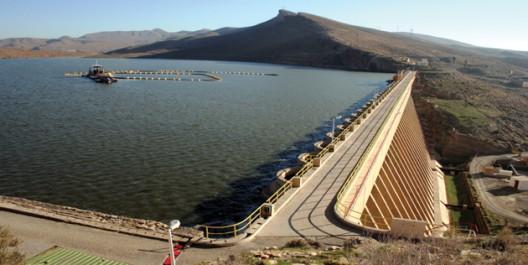 58% de taux de remplissage des barrages suite aux dernières précipitations.
