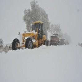 Chutes de neige: L'ANP intervient pour désenclaver les zones touchées