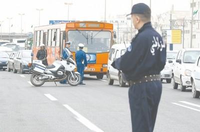 Le dispositif de sécurité mobilisé a engendré des embouteillages monstres. Alger : une nuit de réveillon dans les bouchons !