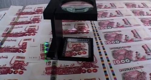 Blida: Escroquerie aux faux billets de banque, trois subsahariens écroués.