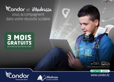 « Condor Electronics » et iMadrassa : Pour la réussite scolaire de vos enfants.