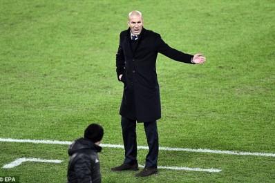 Real : Zidane fixe l'objectif du club cette saison