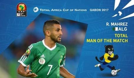 Algérie – Zimbabwe : Mahrez élu homme du match