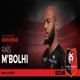 Foot- M'Bolhi signe un contrat d'un an et demi avec Stade Rennais