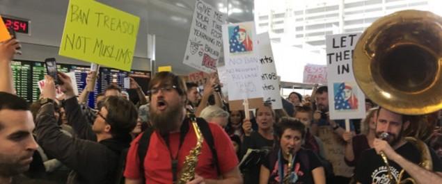 Intifada dans les aéroports américains