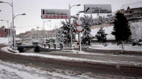 Les aéroports de Sétif et Constantine fermés à cause de la neige