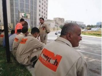 En soutien à leurs collègues du Sud en grève de la faim: Nouveau sit-in des agents de sécurité de Sonatrach