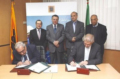 Signature de conventions entre Sonatrach et 44 entreprises publiques.