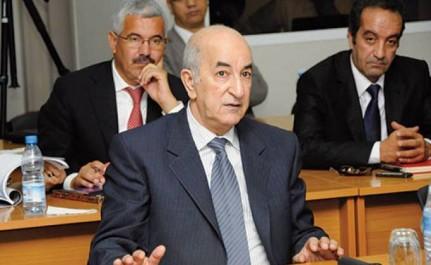 Algérie:Une reconversion économique «urgente», priorité du nouveau gouvernement (Tebboune)