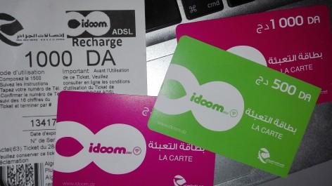 Algérie Télécom met en garde: Vente illégale de tickets de recharge Internet.