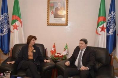 Coopération: Rencontre entre le général-major Hamel et l'ambassadeur de Suisse à Alger