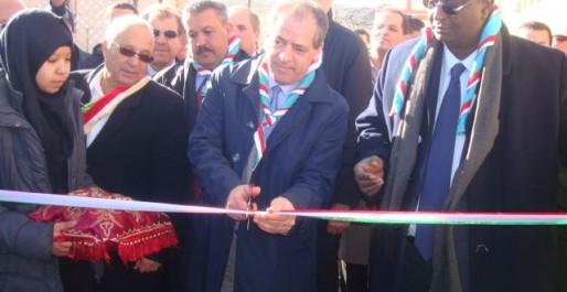 Le ministre de la Jeunesse et des Sports à Tissemsilt: Inauguration de six infrastructures sportives