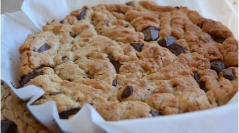 Cookies géants banane- chocolat